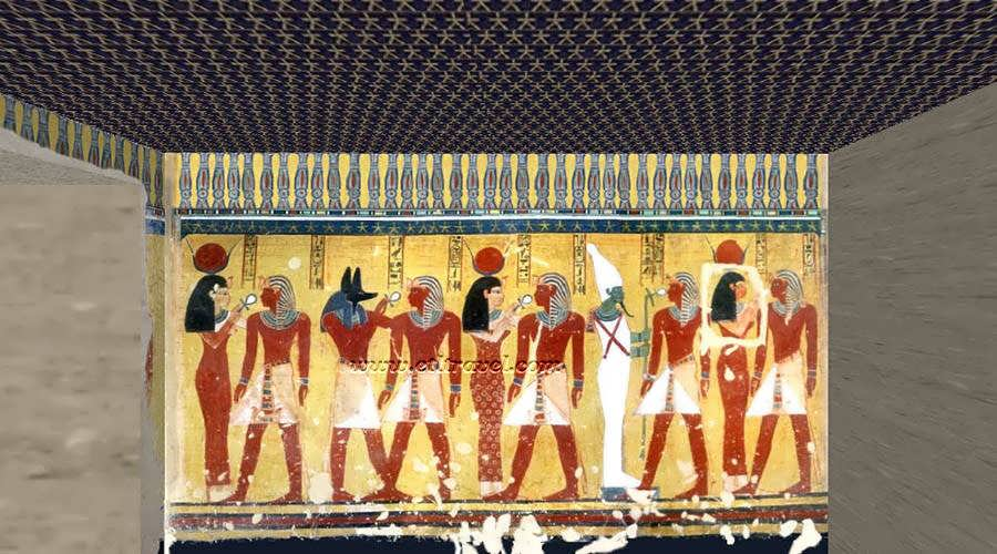 Thutmose IV tomb Luxor