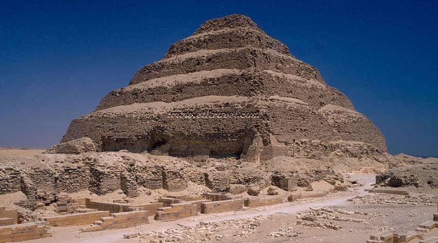 Zoser Step Pyramid Cairo