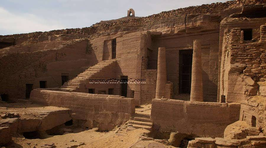 Nobles tombs Aswan Egypt