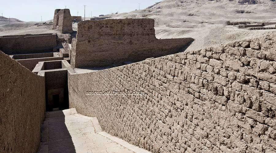 Pabasa tomb Luxor Egypt