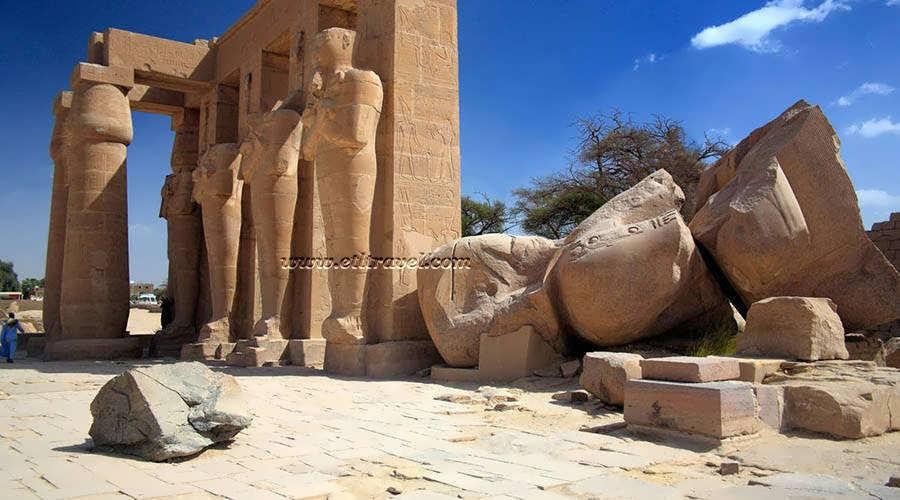 Ramesseum Luxor Egypt