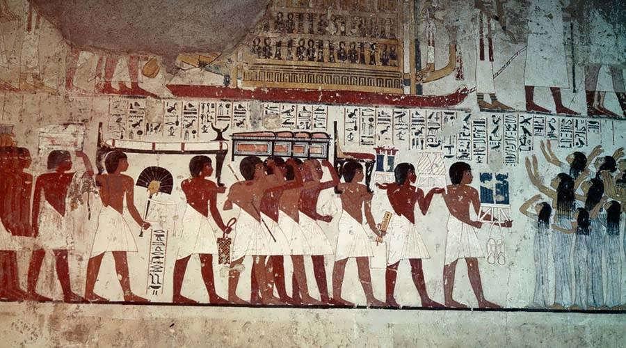 Ramose tomb Luxor Egypt