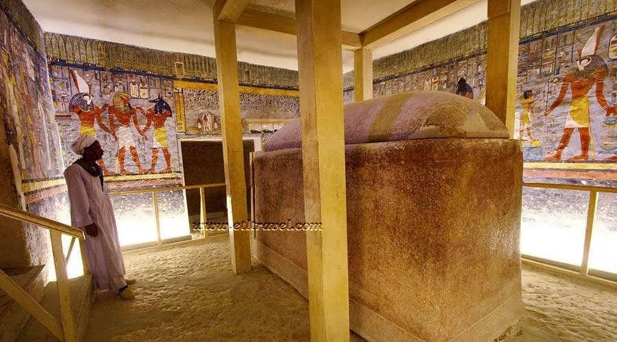 Ramses I tomb Luxor Egypt
