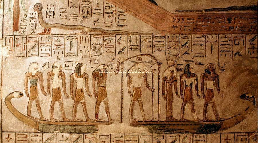 Ramses III tomb Luxor