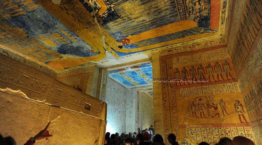 Ramses IV tomb Luxor