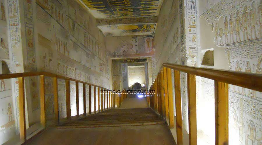Ramesses V tomb Luxor Egypt