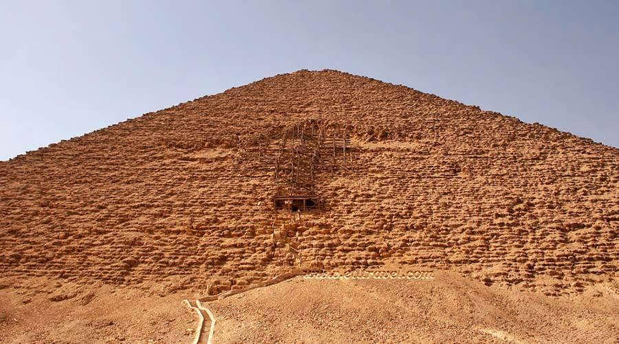 Red Pyramid Dahshur Cairo