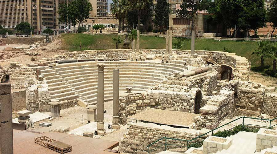 Roman Amphitheater Alexandria