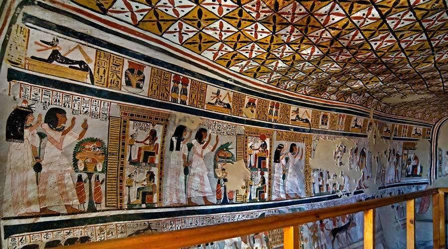 Roy tomb Luxor Egypt