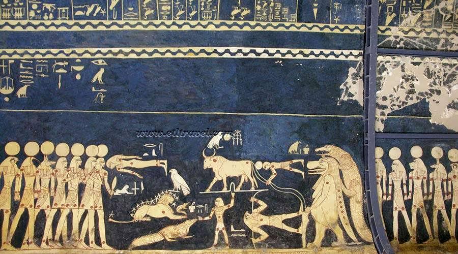 Seti I tomb Luxor Egypt