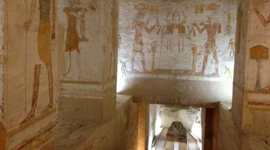 Seti II tomb Luxor