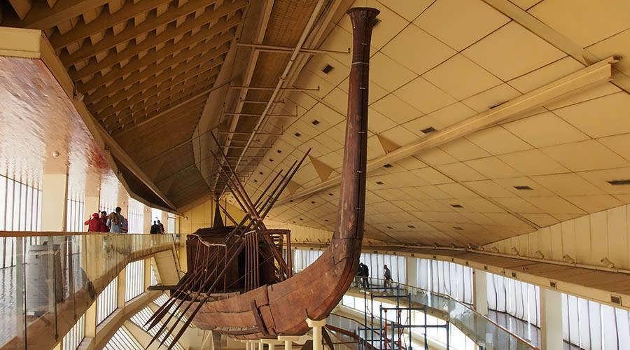 Solar Boat museum Cairo