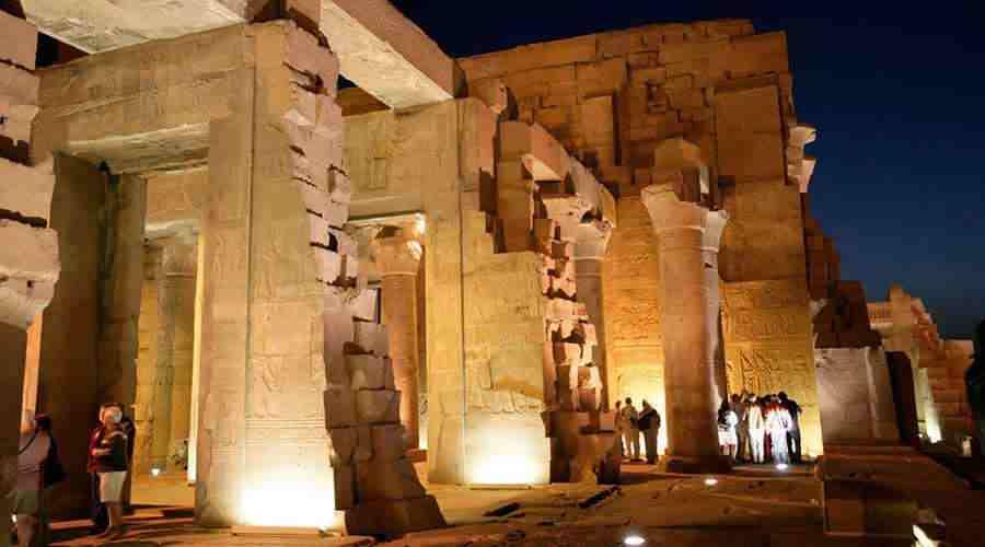 Kom Ombo temple Aswan Egypt