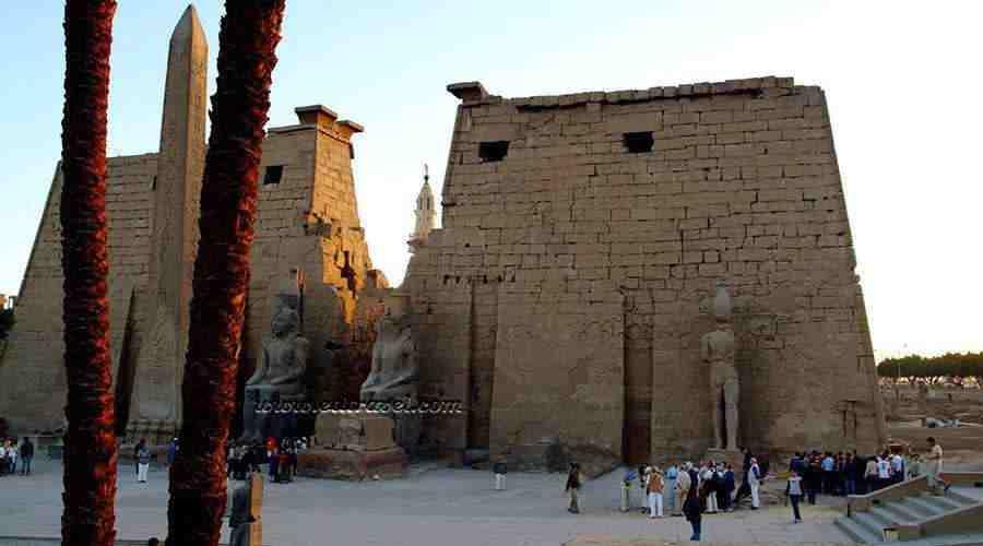 Luxor temple Egypt