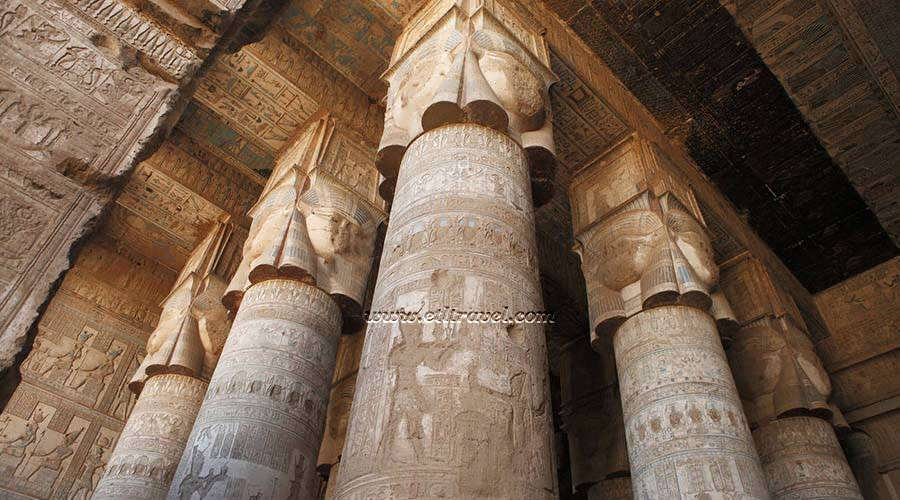 Luxor temples Egypt