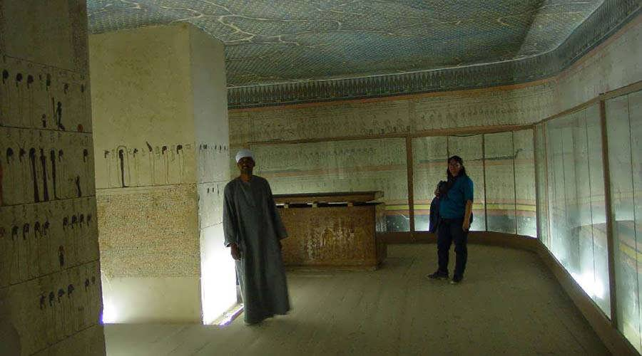 Luxor tombs Egypt