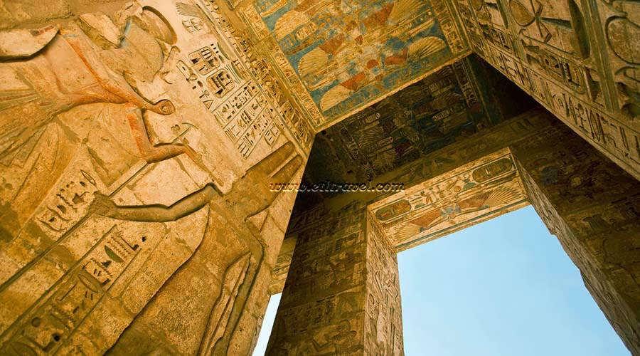 Medinet Habu Luxor Egypt
