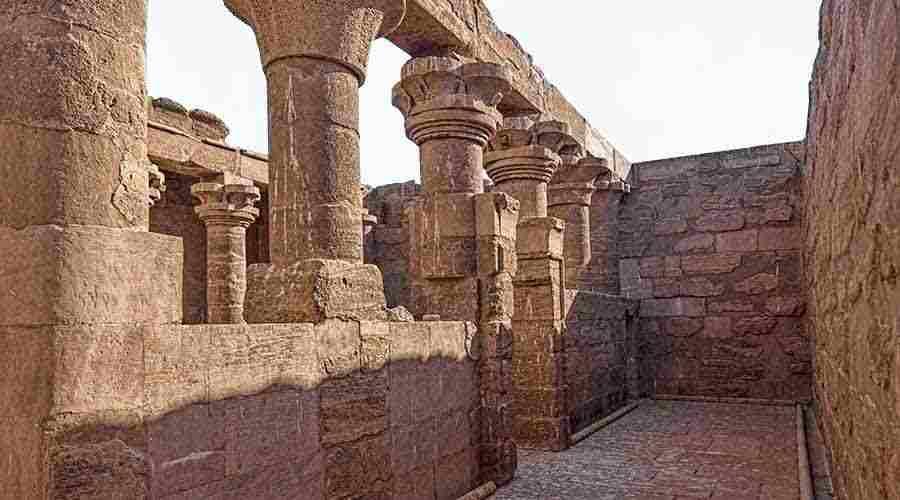 Meharakka temple Aswan