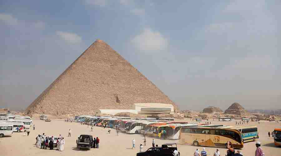 Menkaure Pyramid Cairo
