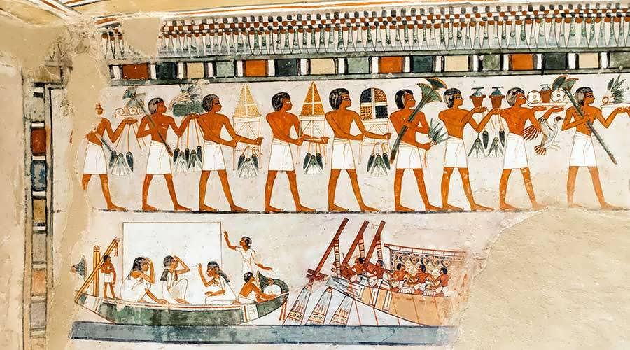 Menna tomb Luxor Egypt
