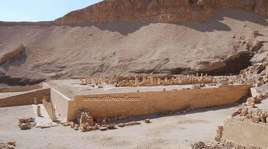 Mentuhotep II temple Luxor