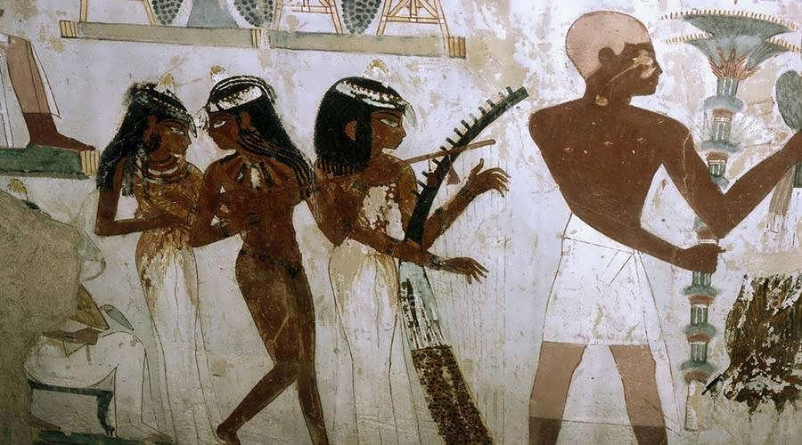 Nakht tomb Luxor Egypt