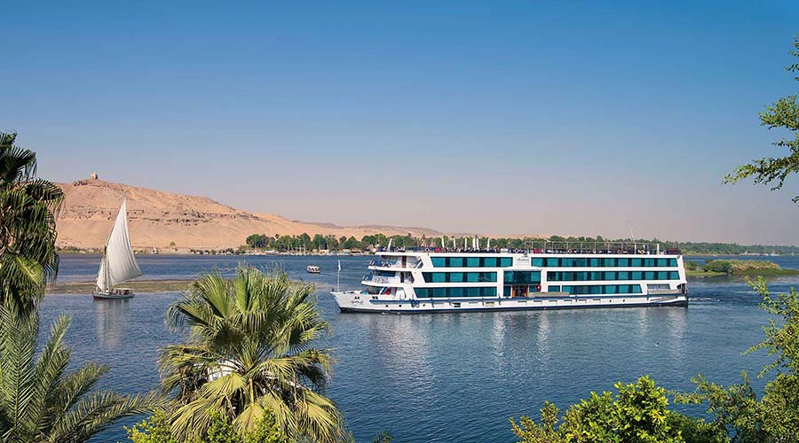 Nile cruise tour in Egypt