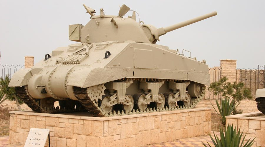 El Alamein Battlefield Egypt