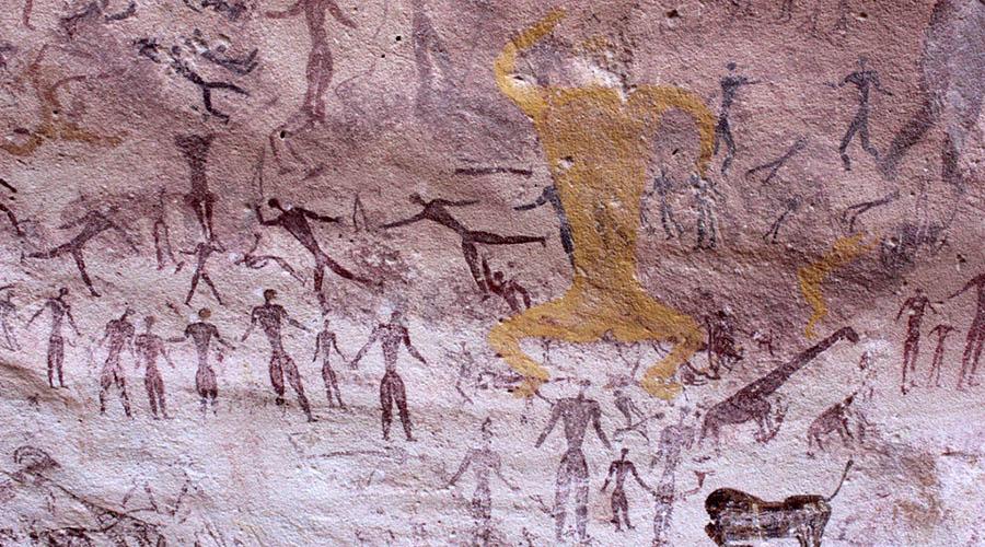 El Mestikawy Cave Egypt