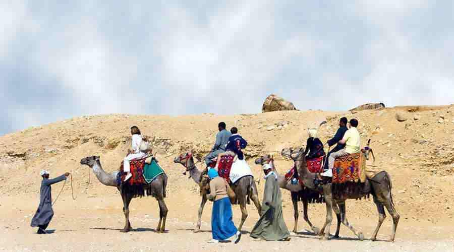 Giza Camel Ride Egypt