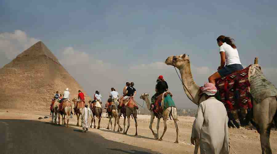 Giza Camel Ride Egypt