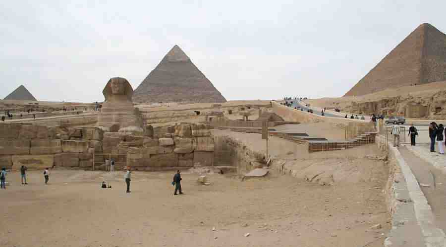 Giza Plateau Cairo Egypt