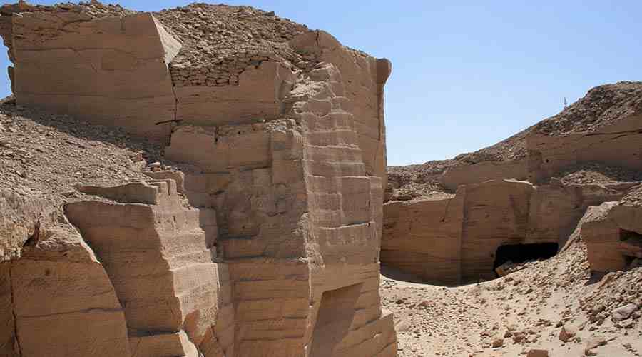 Hatnub Quarries Asyut