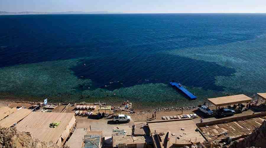 Blue Hole Dahab Egypt