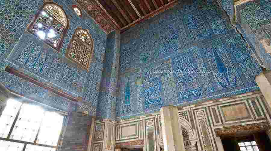 Blue mosque Cairo Egypt