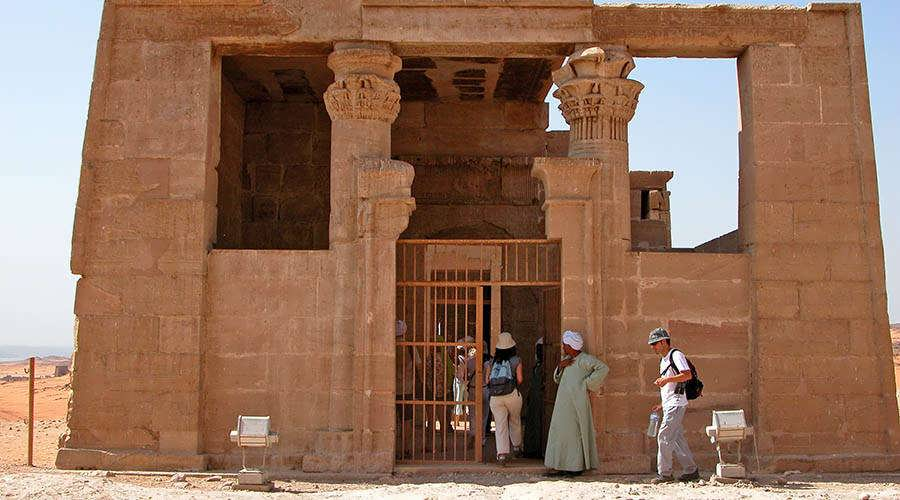Dakka temple Aswan