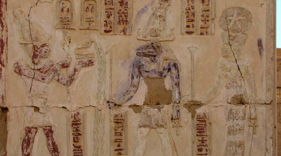 Deir El Hagar temple Dakhla