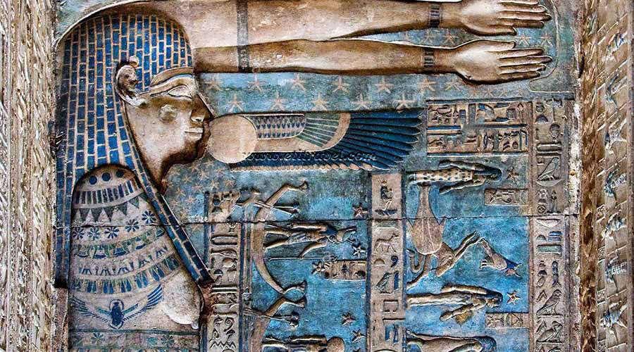 Dendera temple Luxor