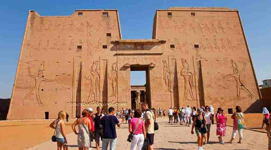 Edfu temple Aswan Egypt