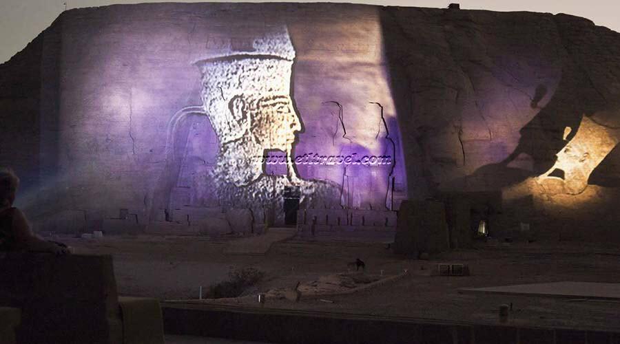 Abu Simbel Sound Light Show