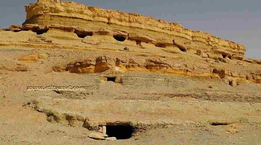 Al Muzawaka tombs Egypt