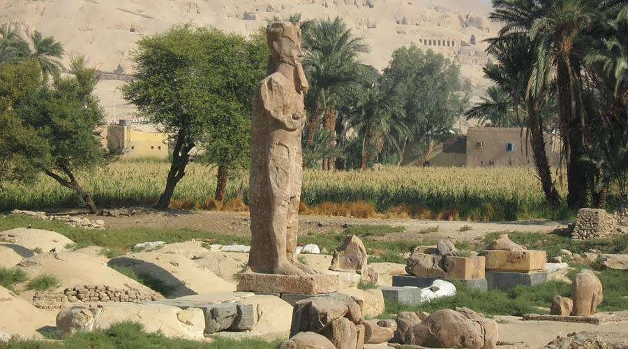 Amenhotep III temple Luxor