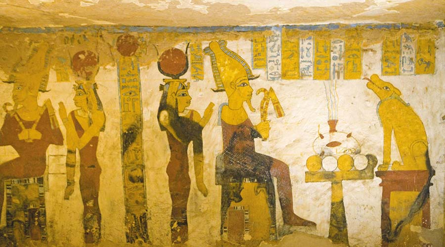Bannentiu tomb Bahariya Oasis