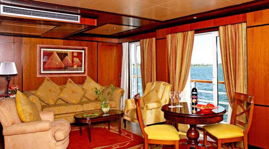 Amarco II Nile cruise Imperial Suite