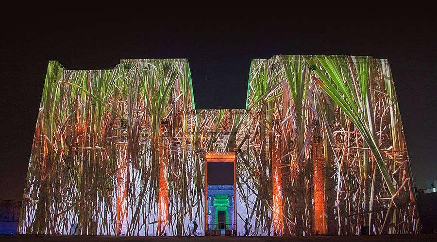 Edfu temple Sound Light Show