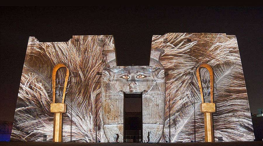 Edfu temple Sound Light Show