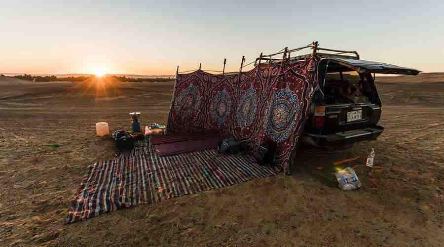 Bahariya Oasis White desert Safari tour