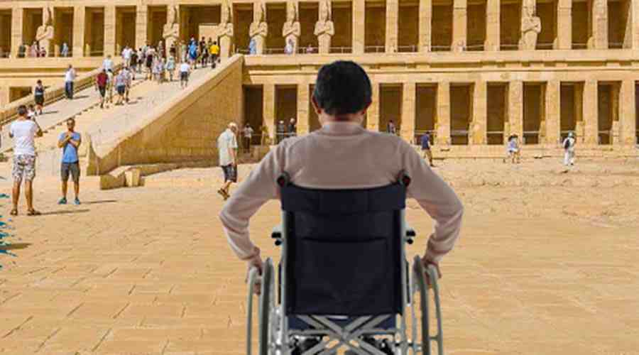 Cairo Nile cruise wheelchair tour