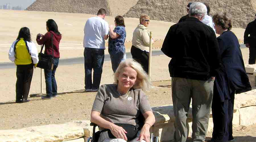 Cairo Nile cruise wheelchair tour