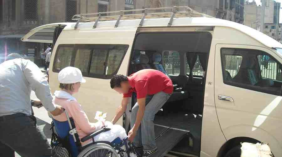Cairo Luxor Hurghada Wheelchair tour